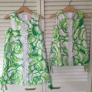2 girls Lilly Pulitzer dresses